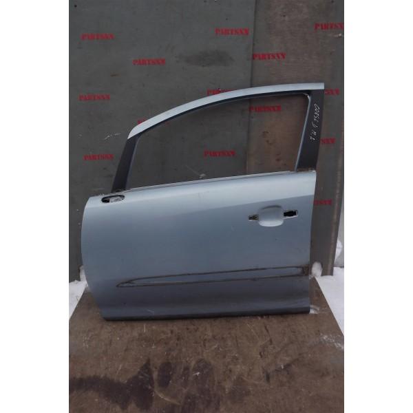 Дверь передняя левая  Opel Corsa D 2006>